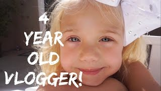 MEET EVERLEIGH, THE WORLD'S YOUNGEST VLOGGER!