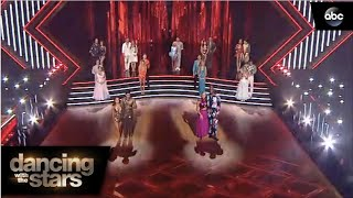 Week 6 Elimination - Dancing with the Stars