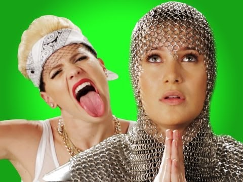 Baixar Epic Rap Battles of History - Behind the Scenes - Miley Cyrus vs Joan of Arc