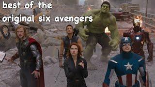 the OG avengers avengering for 7 minutes straight