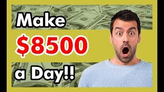 Ways To Make Money From Home - 7 Fast & easy ways to make money at home ($8,000/month)