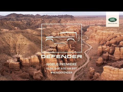 The New Land Rover DEFENDER - Live Reveal from Frankfurt Motor Show