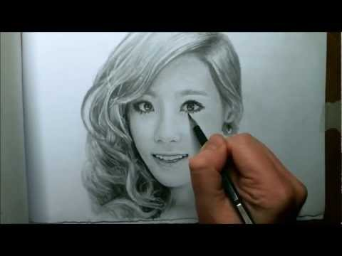 TaeYeon DRAWING VIDEO