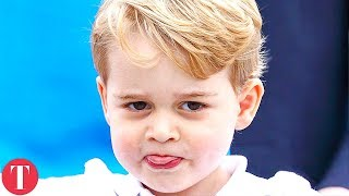 12 Times The Royal Kids Were Caught Breaking Rules