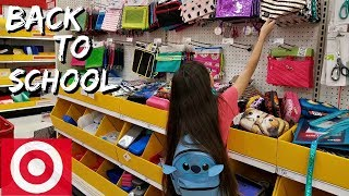 TARGET! BACK TO SCHOOL SUPPLIES WALK THROUGH JULY 2018