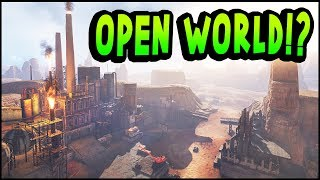 Crossout - OPEN WORLD GAME MODE UPDATE?! SORT OF... New Storyline Adventure Mode & New Items