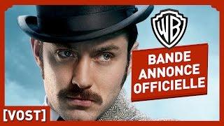 Sherlock holmes 2 : jeux d'ombres :  bande-annonce 2 VOST
