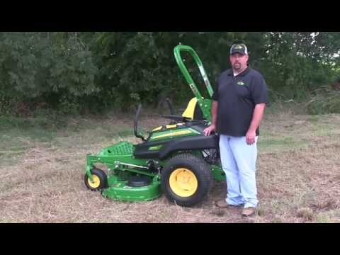John Deere ZTrak Oil Check