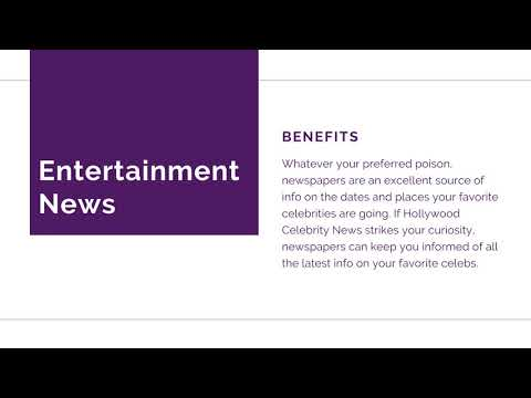 Benefits of Reading News: Local News, World News & Entertainment News
