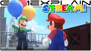 Hiding & Finding Balloons - Luigi's Balloon World LIVESTREAM (Super Mario Odyssey Update)