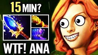 Windranger WTF Farm!? 15 min Agha + MKB - Dota 2 Pro gameplay by OG.ANA