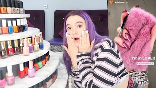 My LA Celebrity Nail Salon Experience! (Designs By Kylie, Kendall Jenner, Ariana Grande)! Worth It?