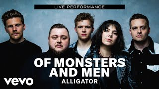 """Of Monsters and Men - """"Alligator"""" Live Performance 