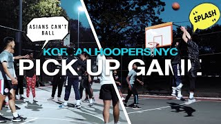 """ASIANS CAN'T BALL"" Korean Hoopers GO OFF in NYC 5v5 Basketball"