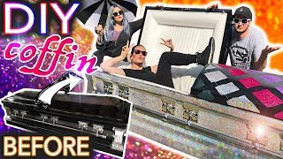 I Made My Own Holo Glitter Coffin ft.Threadbanger (dying to get inside)