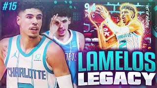 LAMELOS LEGACY #15 - WE PULLED A DARK MATTER!! NBA 2K21 MYTEAM!!