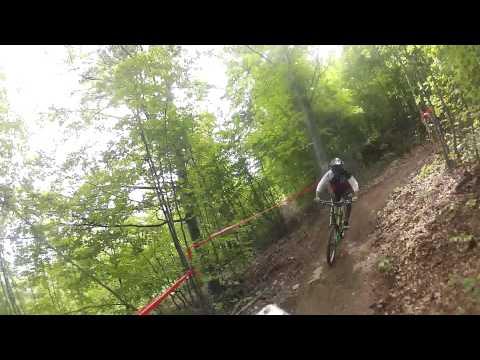 Go pro - monte alpet bike park - jim morrison line - rear camera