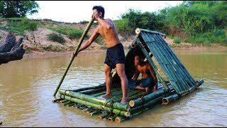 Build Bamboo Boat