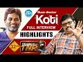 Music director Koti interview highlights; Frankly with TNR..