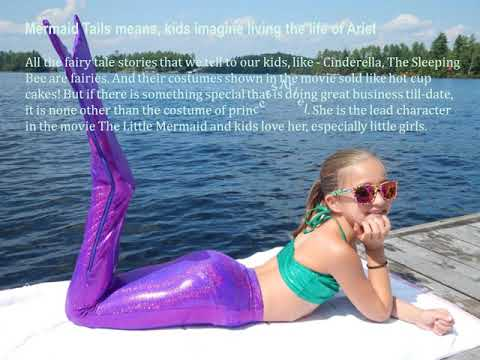 Reasons why children love mermaid tails for kids in Canada?
