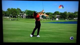 Tiger Woods 267 Yard 3-iron @ Bay Hill 2012