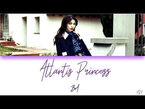 BoA (보아) - Atlantis Princess (아틀란티스 소녀) [Han/Rom/Eng Lyrics]
