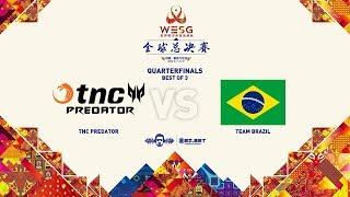 [DOTA 2 LIVE PH] TNC Predator Vs  Team Canarinho | WESG GrandFinal |Bo3| Playoffs