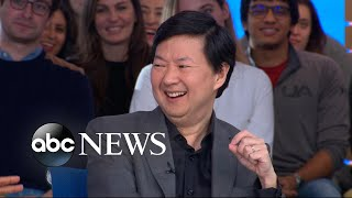 Ken Jeong talks fatherhood, comedy and 'Crazy Rich Asians' l GMA