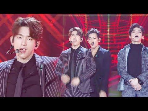 GOT7·NCT127, 파워풀한 군무로 재현한 신화의  'Hey, Come on!' @2017 SBS 가요대전 1부 20171225