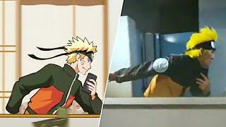 Naruto Mirror Run Challenge   Best Of The Best Compilation
