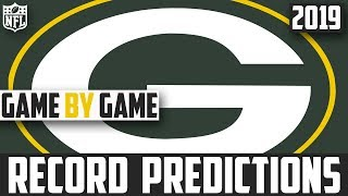 2019 NFL Record Predictions - Green Bay Packers Record Prediction 2019