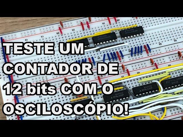 NA PRÁTICA! CONTADOR PARA SINCRONISMO VERTICAL | Conheça Eletrônica! #214