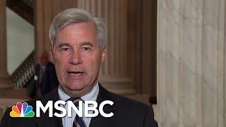 Sen. Sheldon Whitehouse: 'Weird' To See Kavanaugh FBI Probe 'Turning Away' Info   MTP Daily   MSNBC