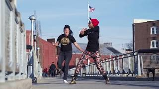 Poiison Ivvy and Pumpkin in Red Hook Brooklyn Flexing to FDM | Mvstermind x YAK
