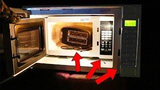 Microwaving A Microwave Microwaving A Toaster