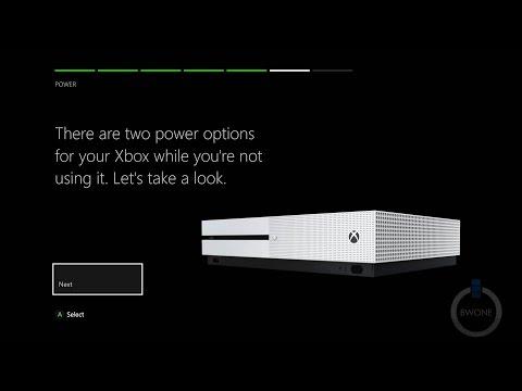 The Xbox One S Setup Walkthrough