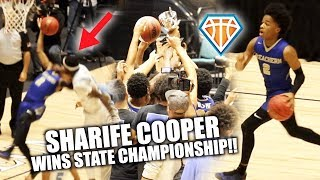 Sharife Cooper GETS FOULED HARD, THEN WINS A CHAMPIONSHIP!! | McEachern's FIRST State Title