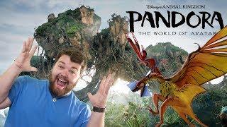 My 1st trip to Pandora in Disney World! - Vlog