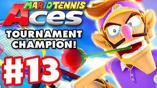 Mario Tennis Aces - Gameplay Walkthrough Part 13 - Waluigi! Tournament Champion! (Nintendo Switch)