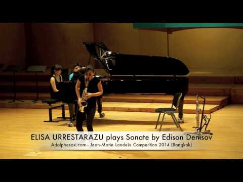 ELISA URRESTARAZU plays Sonate by Edison Denisov
