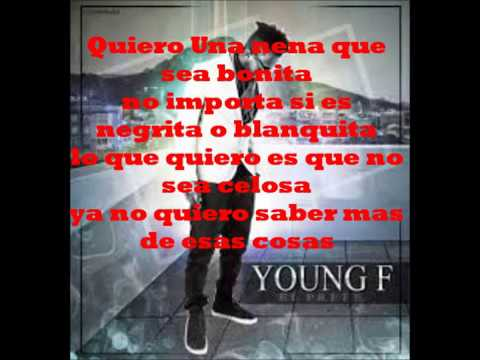 La Celosa Young F Lyrics - Letra