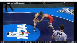 NCAA National Wrestling Finals 2017 141lb-165lb