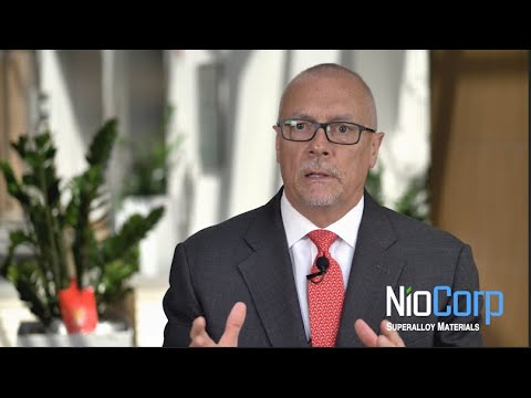 NioCorp CEO Mark Smith and VP of Business Development Scott Honan react to the State of Nebraska's issuance of a final Construction Air Permit to the Elk Creek Superalloy Materials Project.