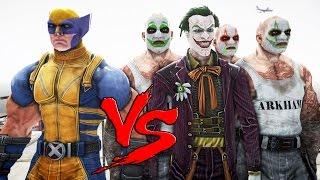 The Joker VS Wolverine - EPIC BATTLE
