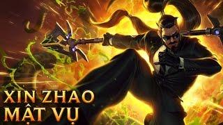 Xin Zhao Mật Vụ - Secret Agent Xin Zhao - Skins lol