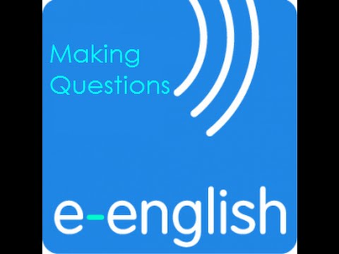 Learn English with e English  Making questions