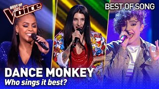 Tones and I's Dance Monkey in The Voice | Who sings it best? #2