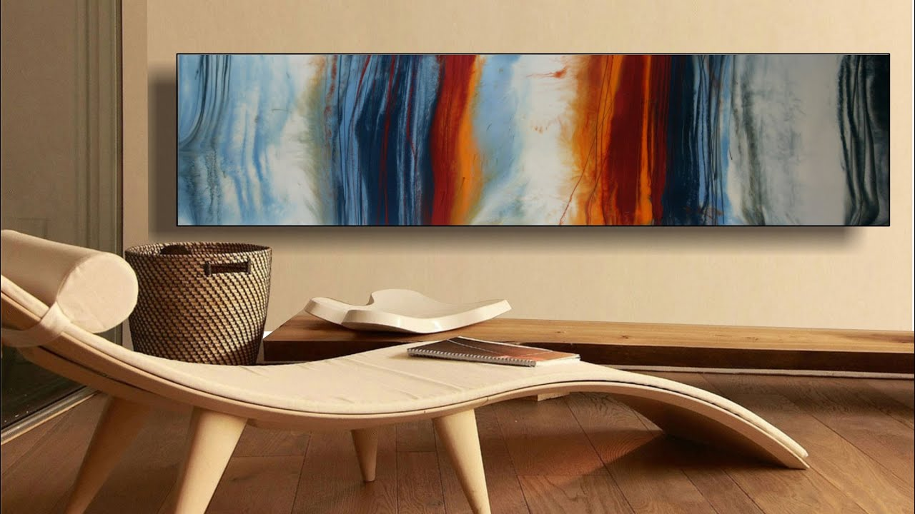 Metallic Pigments Abstract Contemporary Art Painting