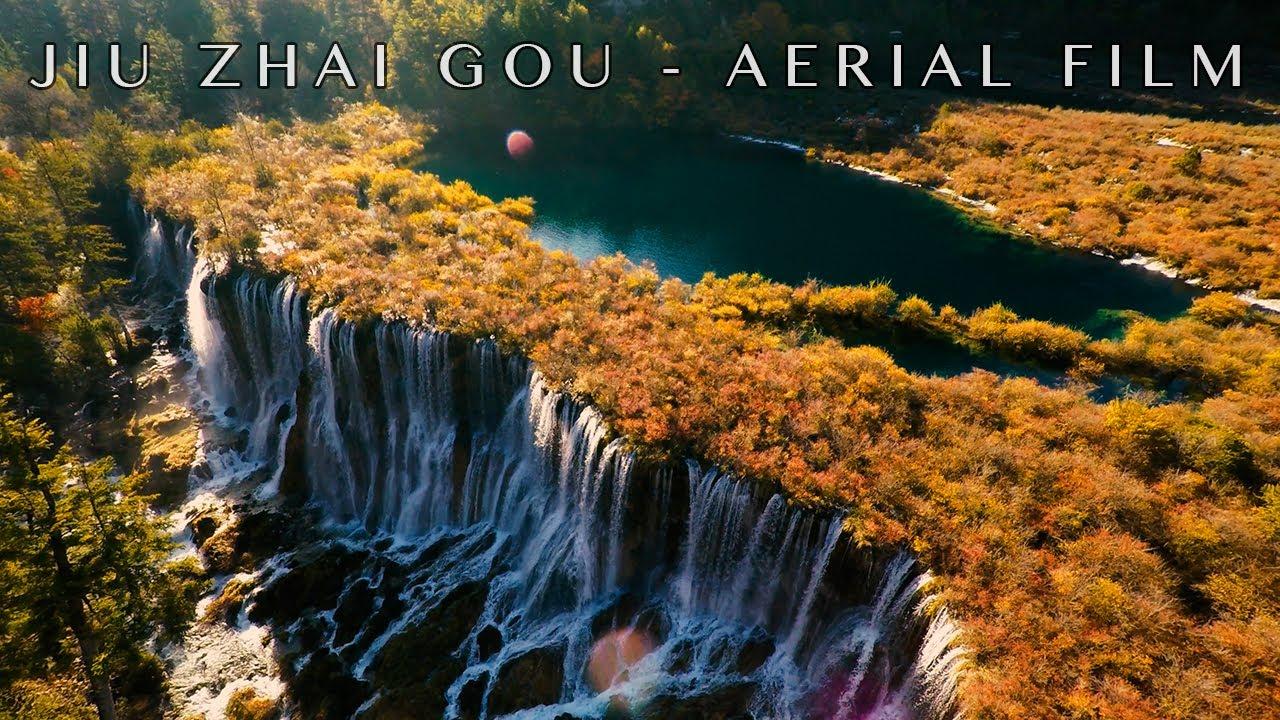 Mystical Jiu Zhai Gou, Central China - 4K Drone
