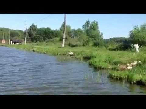 Русская рыбачка!